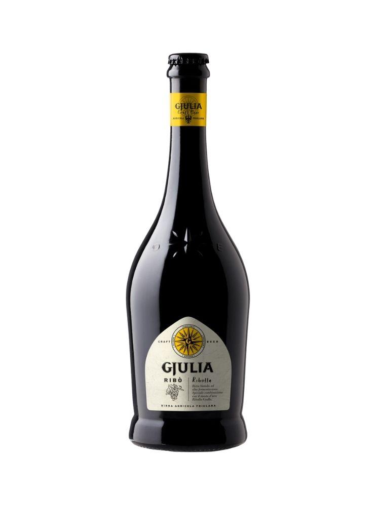 Birra Gjiulia Ribò Bionda con mosto di Ribolla Gialla