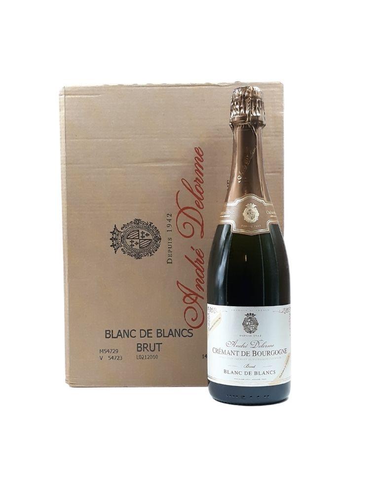 Cartone 6 bt Andrèe Delorme Cremant de Bourgogne Blanc de Blanc Brut